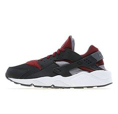 Nike Aid red black Huarache.