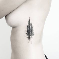 1,148 mentions J'aime, 8 commentaires – Terryemi Tattoo (@terryemi) sur Instagram : « Pine trees  děkuji. »