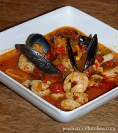 Ciopinno! San Francisco's seafood stew. Best thing I ever ate. At Swiss Louis Restaurant. I wanted to take a bath in it.