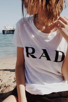 Brandy ♥ Melville   Margie RAD Top - Graphics