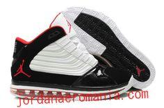 Acheter Chaussures Air Jordan Big Ups Blanc Noir/Varsity Red Rouge |JordanAeroMania.com