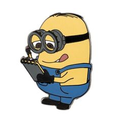 Despicable Me™ Minion Dave With Notebook Pin