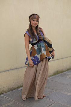 A pregnant Miroslava Duma. Chic.