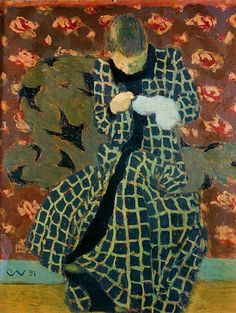 Vuillard.  (Sorry, do not know the name of this picture, if you know, please write it. Thank you.)