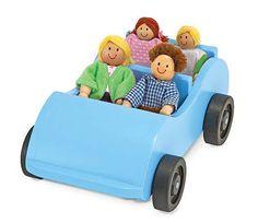 Melissa & Doug Road Trip! Wooden Car & Pose-able Passengers - Liz Ann's Interior Design Boutique http://lizann.myshopify.com/products/melissa-doug-road-trip-wooden-car-pose-able-passengers $19.99