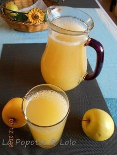 Apple juice with thermomix Thermomix Desserts, Apple Juice, Fruit Juice, Summer Cocktails, Brunch, Food And Drink, Yummy Food, Healthy Recipes, Cooking