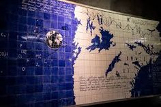 metro art stockholm - Google Search Stockholm Metro, Visit Stockholm, Sweden Travel, Blue And White China, London Underground, Subway Art, Rock Style, Tour Guide, Art Gallery