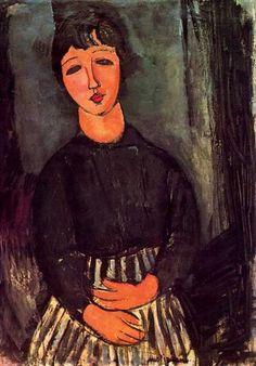 A young girl - Amedeo Modigliani