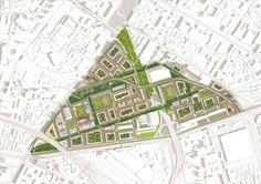 Galería de MVRDV Gana concurso para Convertir antigua fábrica en un Barrio de Usos Mixtos - 5