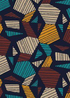 #minakani #engraving #hexagone #retro #geometricpattern