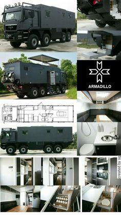 Overland Truck, Expedition Vehicle, Off Road Camper, Off Road Rv, Luxury Rv, Camper Caravan, Truck Camper, Armored Vehicles, Custom Trucks