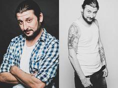 Beard & Tattoos by Ionut Cojocaru - Beard Tattoo, Button Down Shirt, Men Casual, Tattoos, Mens Tops, Shirts, Casual Male Fashion, Irezumi, Shirt