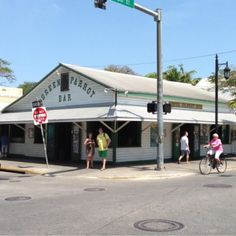 The Green Parrot in Key West, FL