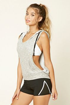 ♡ Forever 21 Workout Pull Over | Women's Yoga | Workout Clothes | Leggings…