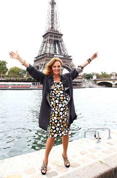 Diane von Furstenberg in Paris