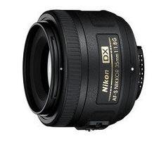 Nikon 35mm f/1.8G AF-S DX Lensfor Nikon Digital SLR Cameras