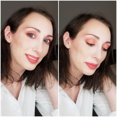 Makeup Matters: How to Wear Coral Like a Pro Urban Decay Smoked, Coral Lips, Makeup Brands, Make Up, Makeup, Beauty Makeup, Bronzer Makeup