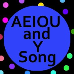 AEIOU and Y song with lyrics helps teach vowels and vowel sounds to preschool, kindergarten, grade school, ESL and children with special needs.  Perfect for homeschool or classroom.