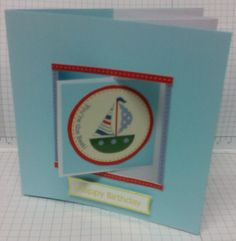Hand made swing card for a child