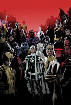 X-Men - Rogue - Cyclops - Cannonball - Wolverine - Nightcrawler - Beast - Colossus - Emma Frost - Deadpool - Storm - Domino - Magneto - Iceman - Pixie - Angel - Dust - Warpath - Anole - Trance - Sunspot - Daniel Acuna - Cover