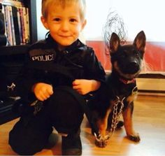 Partners in training.