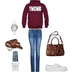 YMCMB<3'!, i Love This OutFit' Even If You Love You Get Dressed Up This Is Just A More Laid Back look For hanging out With Friends Or School .