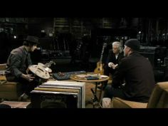 """It Might Get Loud"" - Jimmy Page, The Edge, Jack White. Wasn't this a great film?"