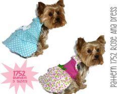 Suzi Que Dog Dress Pattern 1673  Large & XLarge  by SofiandFriends