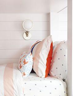 Bay Head Beach Bungalow    Bunk Room Details    Chango & Co.
