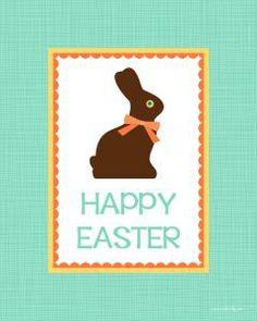 Sweet Mady Happy Easter Sign . Free Printable