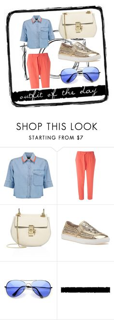 """""""outfit of the day #34"""" by whyfashionblog on Polyvore featuring moda, Être Cécile, Dorothy Perkins, Chloé, J/Slides e Tim Holtz"""