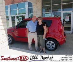 #HappyAnniversary to Linda Guenther on your 2013 #Kia #Soul from Anthony Macaluso at Southwest KIA Rockwall!