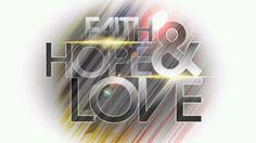 Faith. Love. Hope. We all need these three things. i treasure mine.