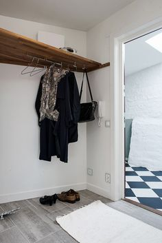 Stilrena grå klinkerplattor, snyggt & praktiskt