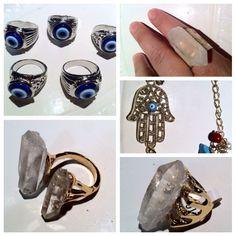 Joyería artesanal estilo boho, diseño mexicano... Handmade boho jewellery, mexican design Mexican Design, Estilo Boho, Boho Jewelry, Class Ring, Gemstone Rings, Gemstones, Fashion, Craft Jewelry, Mexican