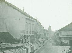 Escolta, Manila. Circa 1900 Manila, Retro Pi, Interesting Photos, Vintage Pictures, Amazing Places, Old Photos, Philippines, The Good Place, Spanish