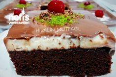 Borcam Pastası (Bol Çikolatalı) #borcampastası #pastatarifleri #nefisyemektarifleri #yemektarifleri #tarifsunum #lezzetlitarifler #lezzet #sunum #sunumönemlidir #tarif #yemek #food #yummy