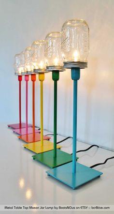 Creative Upcycled Lighting
