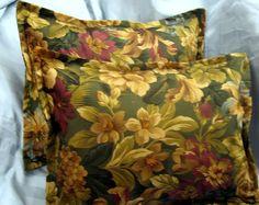 "Ralph Lauren - Custom Made ""Edgefield Floral"" shams"