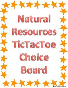 Any good Websites on Natural Resources?