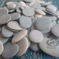 Stone Decor-bulk of SUPER TINY Pebbles size 0.4-1/10-25   Etsy Pebble Color, Pebble Art, Beach Rocks, Beach Stones, Wishing Stones, Hag Stones, Stone Heart, Black Sea, Grey Stone