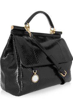 Dolce & Gabbana Python Bag...absolutely gorgeous!