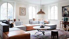 BoConcept Carmo sofa mixed colors
