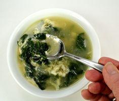 Stracciatella alla Romana - otherwise known as Roman Egg Drop Soup