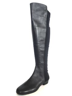 Women's Vince Camuto Karita Over the Knee Stretch Black Leather Boots Size 5 M | Clothing, Shoes & Accessories, Women's Shoes, Boots | eBay!