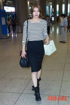 Miss A Suzy Airport fashion