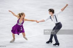 Chloe Lewis and Logan Bye of the United States compete during the junior ice dance short dance on day one of the ISU Junior Grand Prix of Figure Skating on September 1, 2016 in Ostrava, Czech Republic.