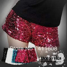 Free delivery of 2013 new hip hop JAZZ costume Jazz Dance Sexy Sequin shorts stage Sequin Sexy Stretch Shorts $16.43