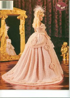 Barbie crochet pattern  Paradise Pub. volume 42 by victoriandolls, $6.00