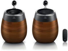 Philips Fidelio SoundSphere wireless speakers DS9860W